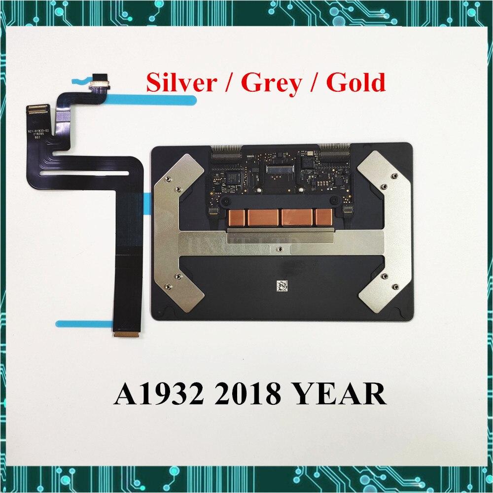 Оригинальная новая серая Золотая Сенсорная панель A1932 с кабелем 821-01833-02 для Macbook Air Retina A1932 Сенсорная панель 2018 года