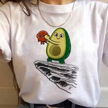 90s T-shirt Graphic Cute Grunge Tshirt Korean Style Top Tees Female Kawaii Avoca