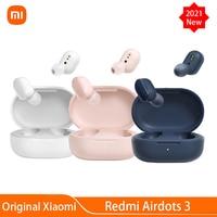 Xiaomi-auriculares inalámbricos Redmi AirDots 3, dispositivo de audio TWS, con Bluetooth 2021, aptX, estéreo, con micrófono, manos libres, novedad de 5,2
