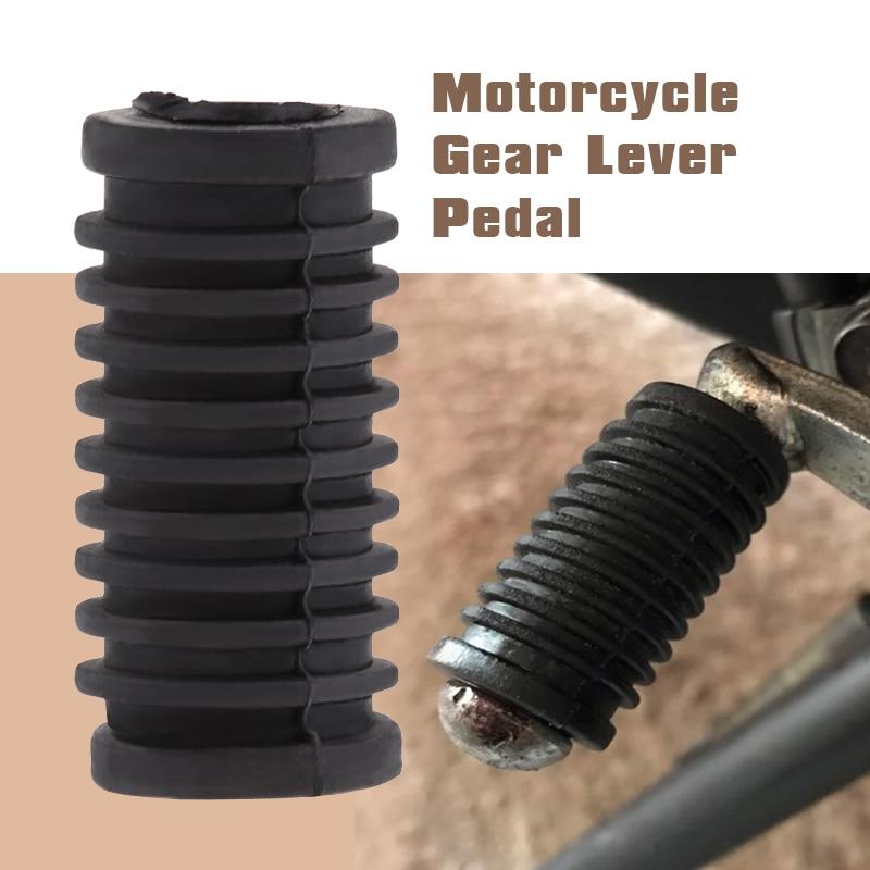 35mm Universal Motorcycle Gear Shift Lever Pedal Rubber For Yamaha YZF R1 R6 R6S Suzuki SV1000 Kawasaki Honda Etc Motorcycle ACC