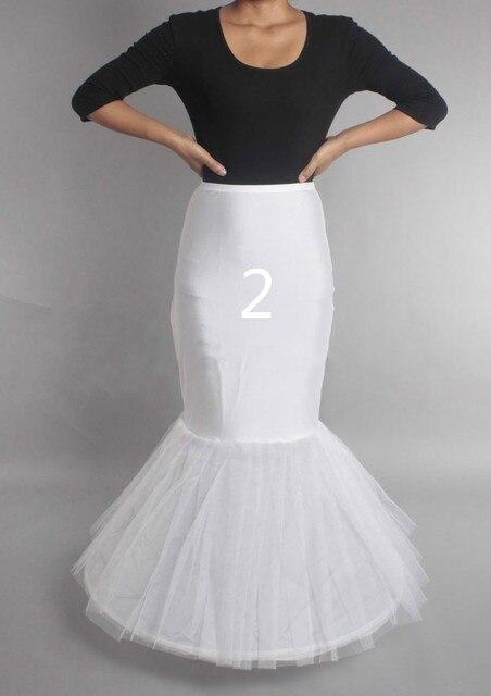 Wedding Petticoat Crinoline Slip Underskirt Bridal Dress Hoop Vintage Slips 3