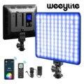Weeylite sprite20 RGB светодиодный видео светильник 2500K-8500K фотографии светильник ing телефона Удаленное управление с помощью приложения для YouTube пото...