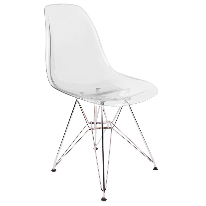 Transparent Chair Creative Dining  Cafe  Outdoor Leisure  Art  Designer