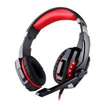 G9000G9000 головное крепление над ушами игры Игровые Pro Наушники Гарнитура одно отверстие наушники повязка с микрофоном