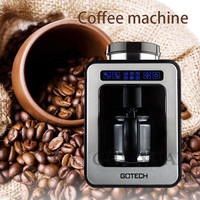 220V/600W Home automatic American coffee machine Small Grinding Freshly cooked One Coffee machine office Drip coffee machine