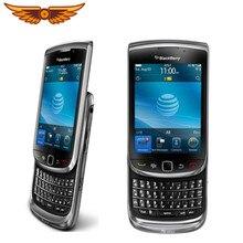 Origanl desbloqueado blackberry tocha 9800 gsm 3.2 polegadas câmera de 5mp blackberry os qwerty teclado gps wifi celular