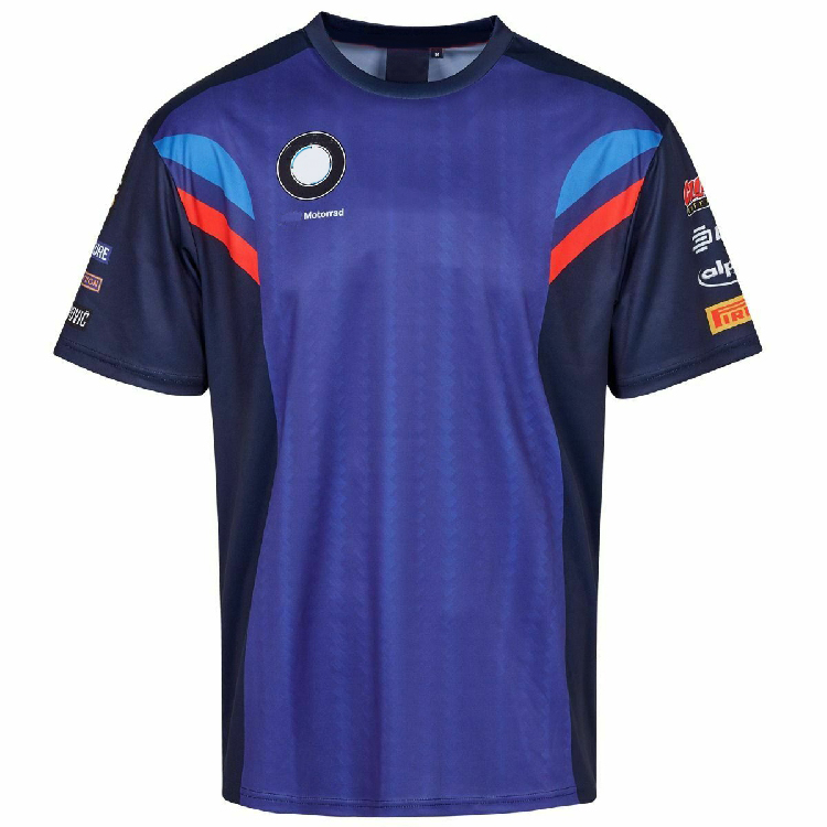 New One Blue <font><b>T</b></font> <font><b>Shirts</b></font> For <font><b>BMW</b></font> Motorbike Short Sleeve MX Dirt Bike Off-road <font><b>T</b></font>-<font><b>shirt</b></font> Mens image