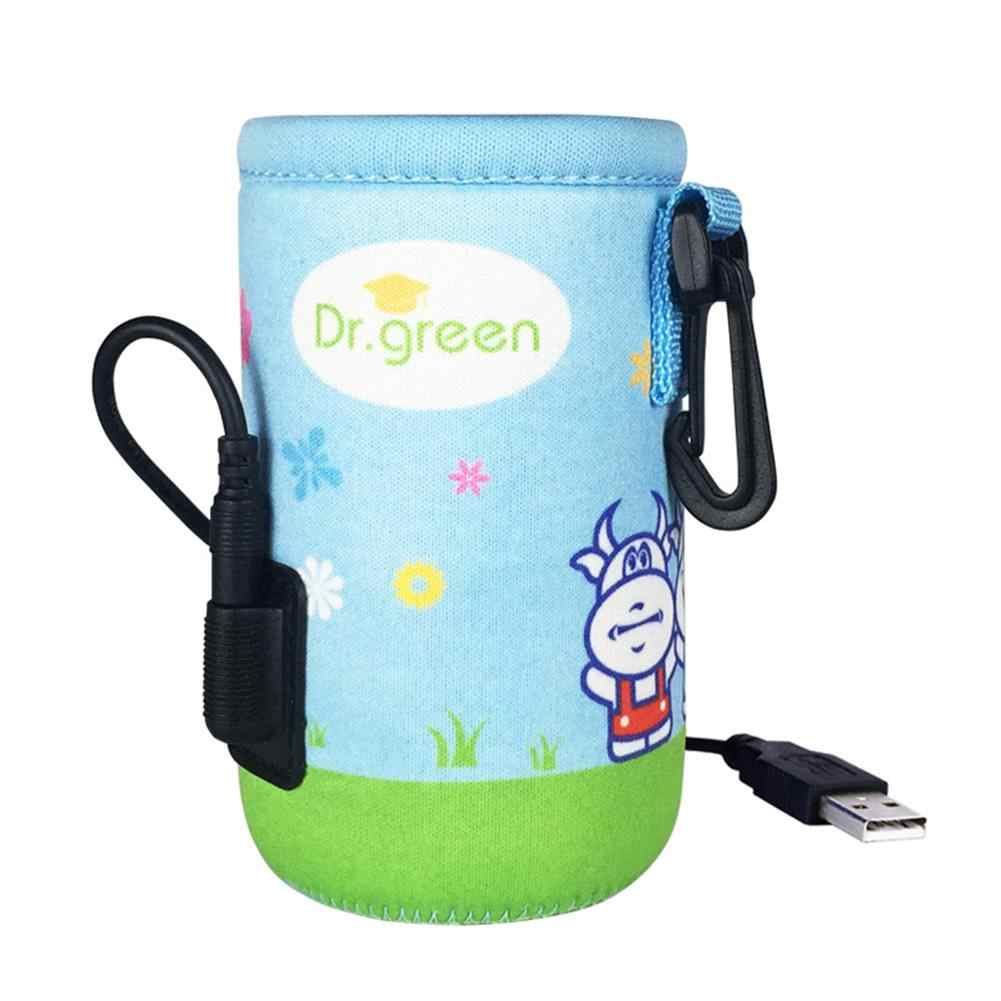 Portable Baby Bottle Thermostat Bags Portable USB Heating Smart Warm Breast Milk Insulation Bag Warm Milk Tool Insulation Cover