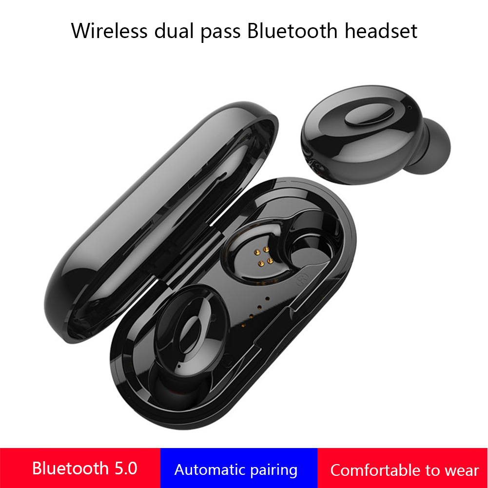 XG15 Mini <font><b>TWS</b></font> Wireless Earphones In Ear Stereo Wireless Bluetooth Headset 5.0 Headsfree Noise Cancelling Earbuds With Microphone image