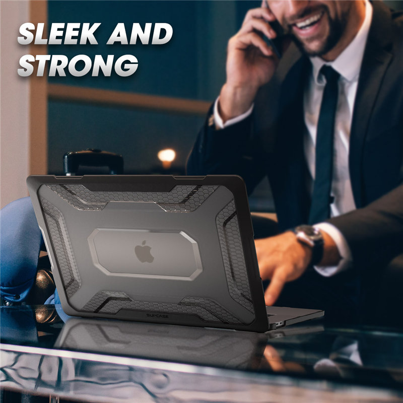 For MacBook Pro 16 Case A2141 (2019 Release) UB Series Slim Rubberized TPU Bumper Cover Case with Touch Bar and Touch ID
