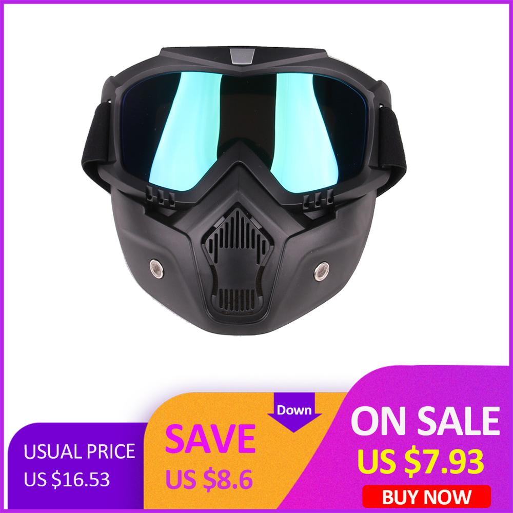 Classic Style Tactical Paintball Mask Soft Bullet Dart Protective Mirror Face Mask For Games For Airsoft - Colorful