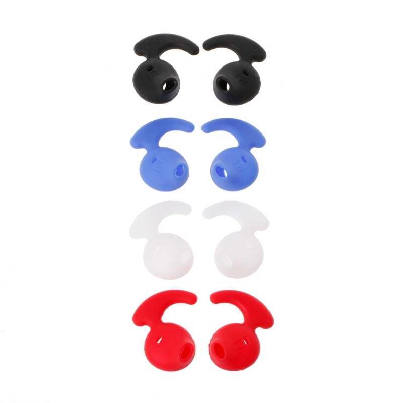 4 pary silikonowe słuchawki douszne do Samsung S6 poziom U EO-BG920 słuchawki Bluetooth 77UB