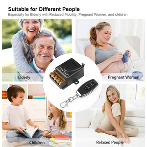 Image 4 - kebidu AC 110V 240V 30A Relay Wireless RF Smart Remote Control Switch Transmitter+ Receiver For 433MHz Smart Home Remote