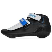 Original BONT Short Track ST Patriot Boot Speed Ice Inline Skate Boot Heatmoldable Carbon Fiber Competetion Race Skating Patines
