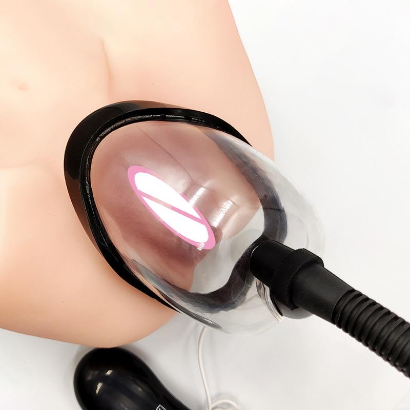 Киска насос для вагины вакуумный Клитор Вибратор насос для женщин вибрирующий для клитора соски увеличение присоска взрослые секс игрушки ...