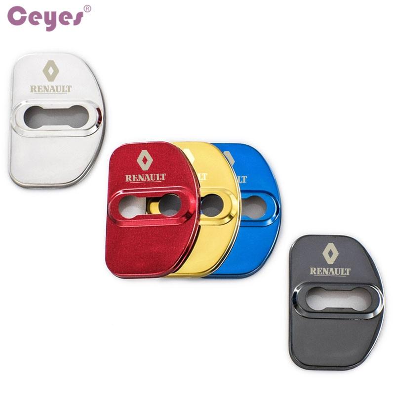 Ceyes Auto Styling Auto Deurslot Cover Case Voor Renault Scenic Laguna Captur Megane 2 3 Fluence Latitude Auto Sticker accessoires