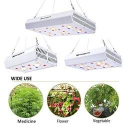 400 Вт 800 Вт 1200 Вт Светодиодный светильник для выращивания 3000K COB полный спектр включая УФ ИК ромашки цепи для комнатных гидропоники растений
