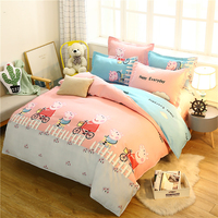 Thumbedding Pig Pecs Bedding Set For Children Classic Soft Cute Duvet Cover King Queen Full Twin Single Unique Design Bed Set