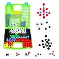 Набор из 156 элементов, молекулярная модель, молекулы органической неорганической химии, образовательные игрушки, подарки, научное обучение