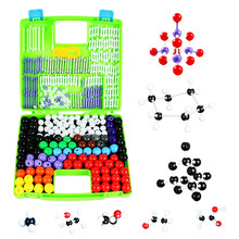 156 átomos estrutura conjunto molecular modelo kit orgânica inorgânicas moléculas de química brinquedos educativos presentes ensino ciência