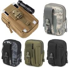 Мужская тактическая Сумка Molle, поясная сумка, маленький карман, военная сумка для бега, походные сумки, кошелек для мобильного телефона, инструмент для путешествий