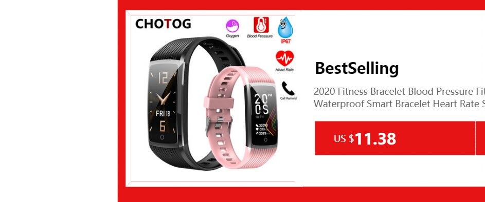 Hace7e5ab79204155aec18a414736703ai Fitness Bracelet Blood Pressure Measurement Waterproof Smart Band Bracelet Watch Fitness Tracker Heart Rate Activity Tracker