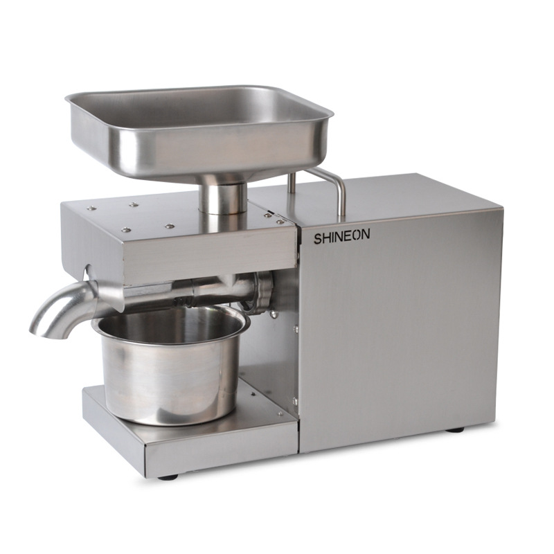 MX9 Automatic Oil Press Household FLaxseed Oil Extractor Peanut Oil Press Cold Press Oil Machine 1500W