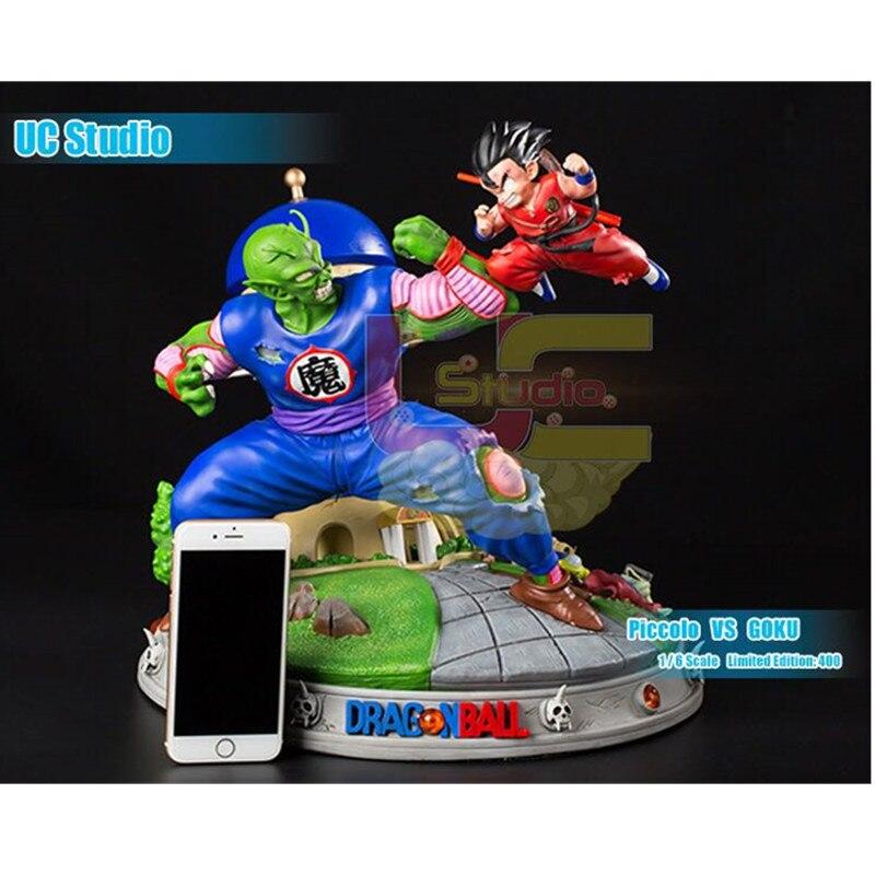 35cm Anime Dragon Ball Piccolo VS Small Son Goku GK Statue Action Figure Collection Model Toy Boyfriend's Birthday Gift M5246