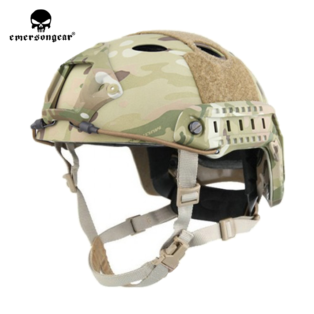 emersongear Emerson ABS PJ Type Fast Helmet Tactical Combat Hunting Pararescue Jump Protective Lightweight