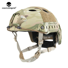 emersongear Emerson ABS PJ Type Fast Helmet Tactical Combat Hunting Pararescue Jump Helmet Protective Lightweight Helmet цена в Москве и Питере
