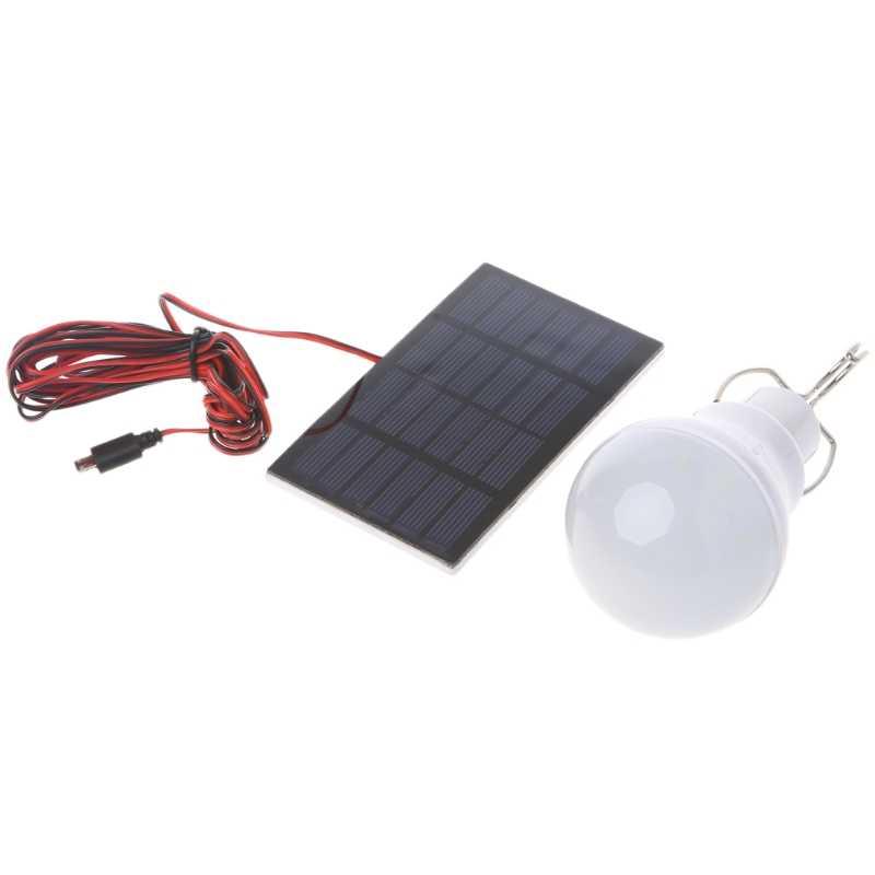 Портативный солнечной панели мощность Светодиодный лампа для палаточного лагеря Наружное освещение рыболовный светильник Прямая поставка поддержка