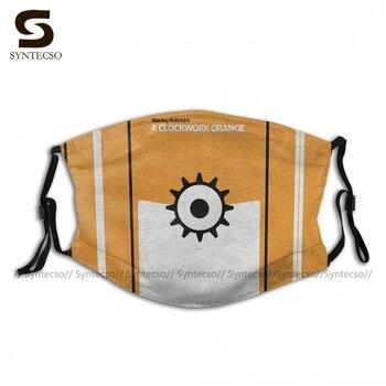 Print Dustproof A Clockwork Orange Face Mask Fancy Adult Cloth Bike Facial Mouth Mask With Filters