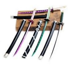 Arme épée démon tueur, kimetsu no yaiba Tokitou Muichirou, couteau Cosplay, Katana, accessoires pour adolescents, jouets, cadeaux