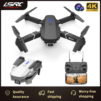 LSRC 2020 New RC Drone E525 WIFI FPV Drone With Wide Angle HD 4K 1080P Camera Height Hold RC Foldable Quadcopter Dron Gift Toy