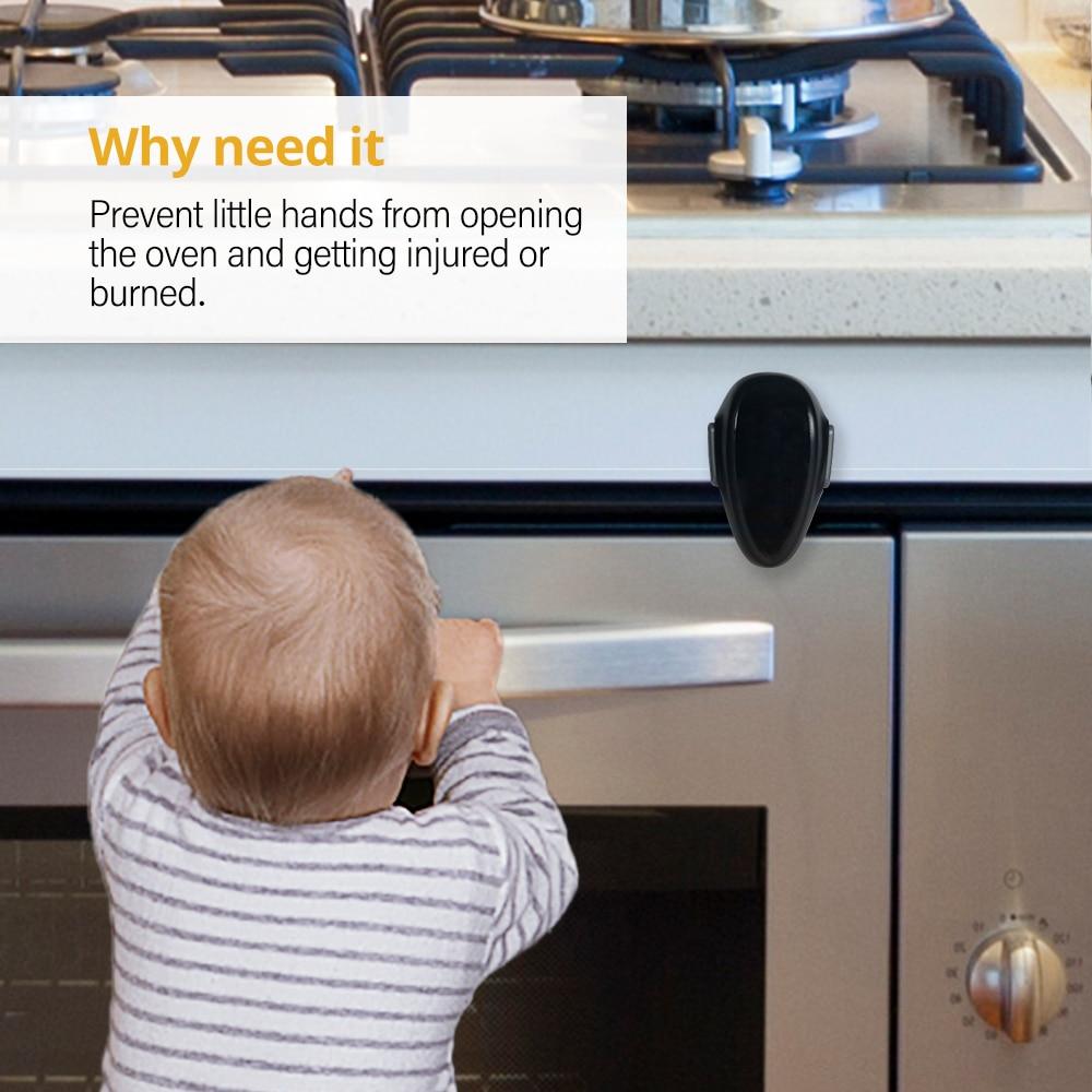 EUDEMON Baby Oven Door Lock for Kitchen Child Safety Locks Children Protection Kids Safety Care Drawer Cabinet Cupboard Lock 2