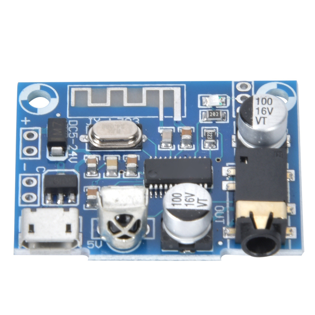 Decoding Board for Bluetooth <font><b>Car</b></font> Speaker <font><b>Audio</b></font> <font><b>Amplifier</b></font> <font><b>DIY</b></font> Modification DC5-24V <font><b>Audio</b></font> Receiver Module image