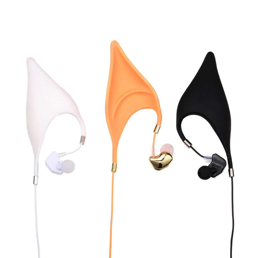 1pcs Elf หูหูฟังบลูทูธไมโครโฟนหูฟังเปลี่ยนหูฟังชนิดใส่ในหูคอสเพลย์ Fairy ของขวัญสร้างสรรค์สำหรับเด็ก