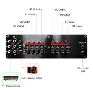 Image 4 - 7.1 Channel Power Amplifier 8x20W 8 ช่องเครื่องขยายเสียงดิจิตอลซับวูฟเฟอร์ Amplificador de AUDIO AMP สำหรับ DIY home Sound Theater