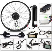"E Bike Electric Bike Kit Motor Wheel 36V 350W 26""4.0 Electric Bicycle 10/13AH Conversion Kit ebike mountain road bike bicycle"