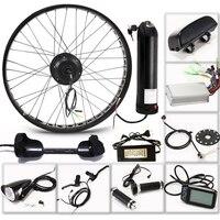 """E Fiets Elektrische Fiets Kit Motor Wiel 36V 350W 26 """"4.0 Elektrische Fiets 10/13AH Conversie kit ebike weg mountainbike fiets-in Elektrische Fiets motor van sport & Entertainment op"""