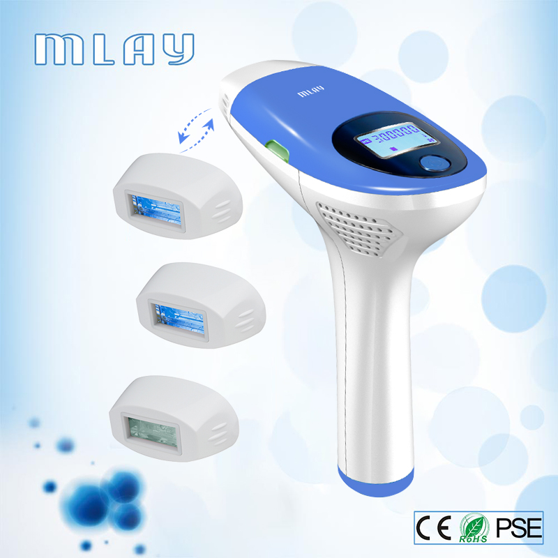 Epilator Hair-Removal-Machine Laser Mlay Ipl Flashes Electric Face-Body-3in1 500000