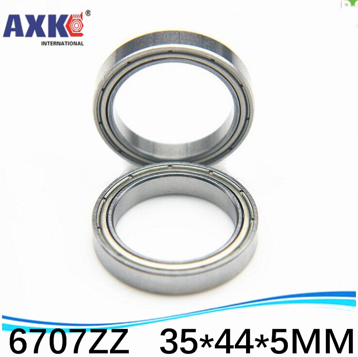 4pcs free shiping The high quality of ultra-thin deep groove ball bearings 6707-2RS 6707ZZ 6707 Z RS 35*44*5 mm image