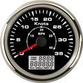 1 шт. новейшие 0-35knots спидометры GPS Морские 0-40MPH GPS скорость одометры 85 мм индикаторы скорости с функцией Trip COG ODO