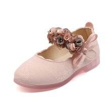 Платье для маленьких девочек детские туфли без каблуков; Туфли