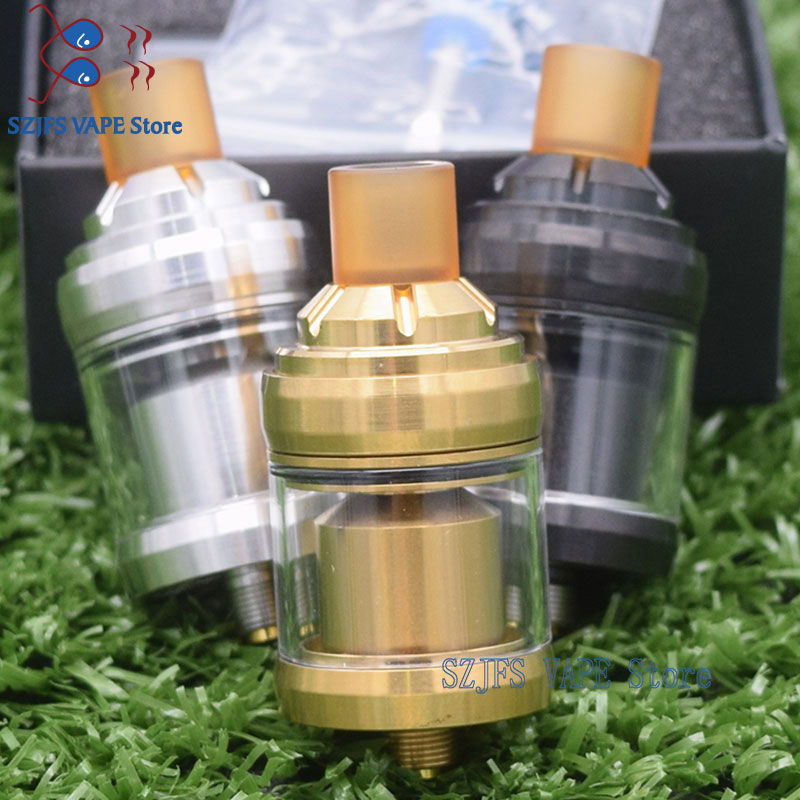 2019 Newest Relod MTL RTA Tank Atomizer 2ML Capacity 22mm Diameter Fit 510 Box Mod RBA RDTA Vape Vs Zeus X Yftk Kylinm Gtr Rta