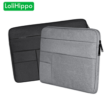 LoliHippo Laptop Sleeve Case for Apple Macbook Air Pro HP Sony Thinkpad Lenovo 11 12 13.3 14 15.4 15.6 inch Notebook Cover Bag