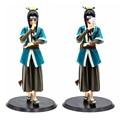 22cm naruto haku figuras de ação momochi zabuza kirigakure não kijin haku pvc figuras brinquedos coleção modelo boneca