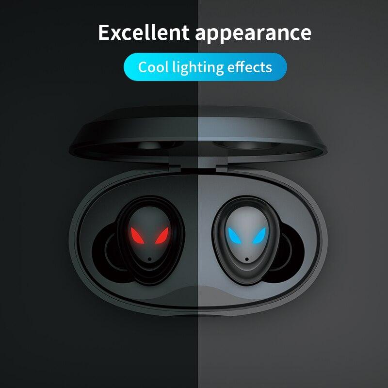 Профессиональные игровые наушники TWS, беспроводные bluetooth наушники Touch HD, Беспроводная игровая гарнитура с зарядным боксом Loop-01