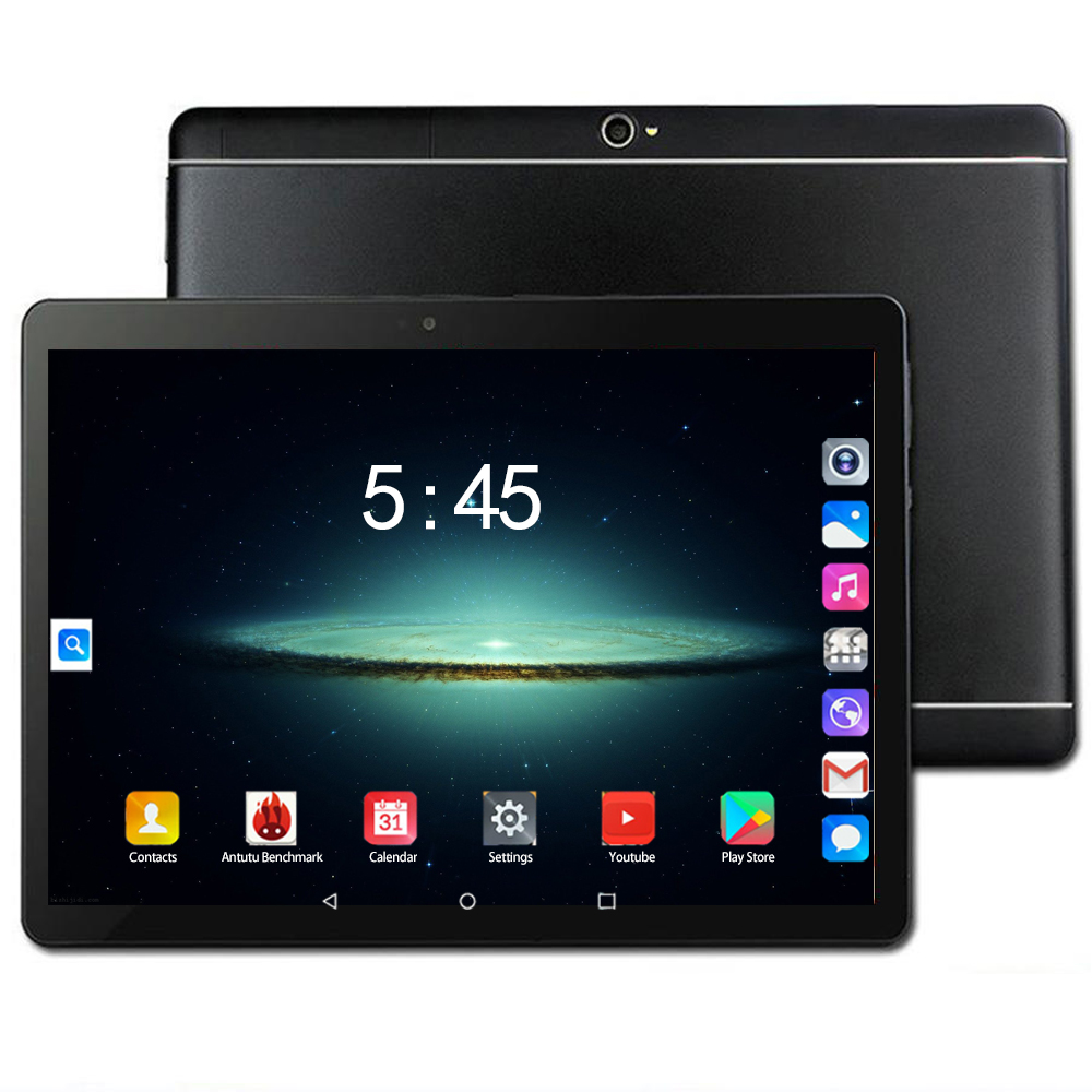 YAHU 6GB+128GB Hot Sales 10 Inch Tablet 1920*1200 HD Ten Core 4G FDD-LTE Tablet Dual Cameras Android 8.0 Tablet Gifts Kids