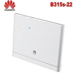 Лот из 10 шт. оригинальный Huawei B315s-22 4G LTE CPE промышленный WiFi роутер